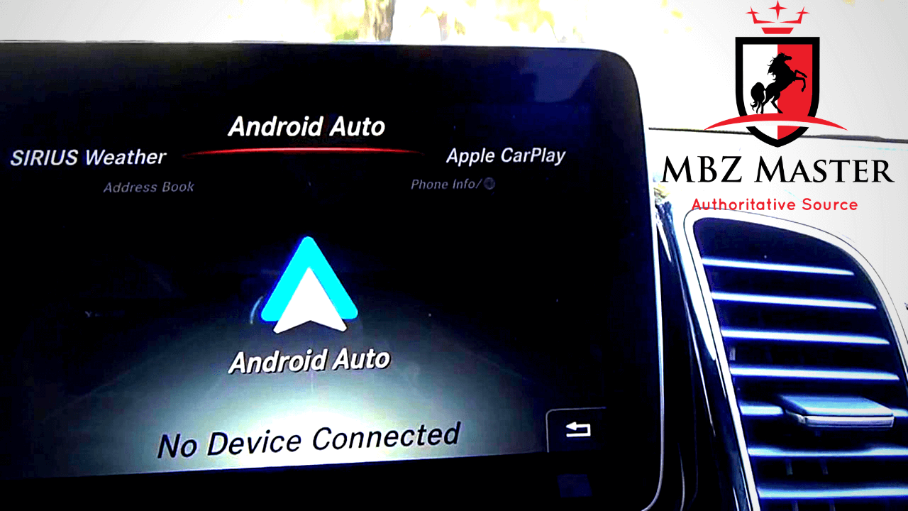 Mercedes Android Auto