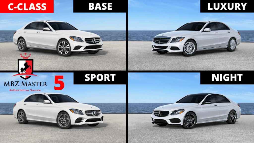 Mercedes C-Class Model Comparison