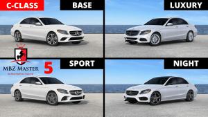 Mercedes C-Class Model Comparison