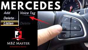 Mercedes Voice Tag