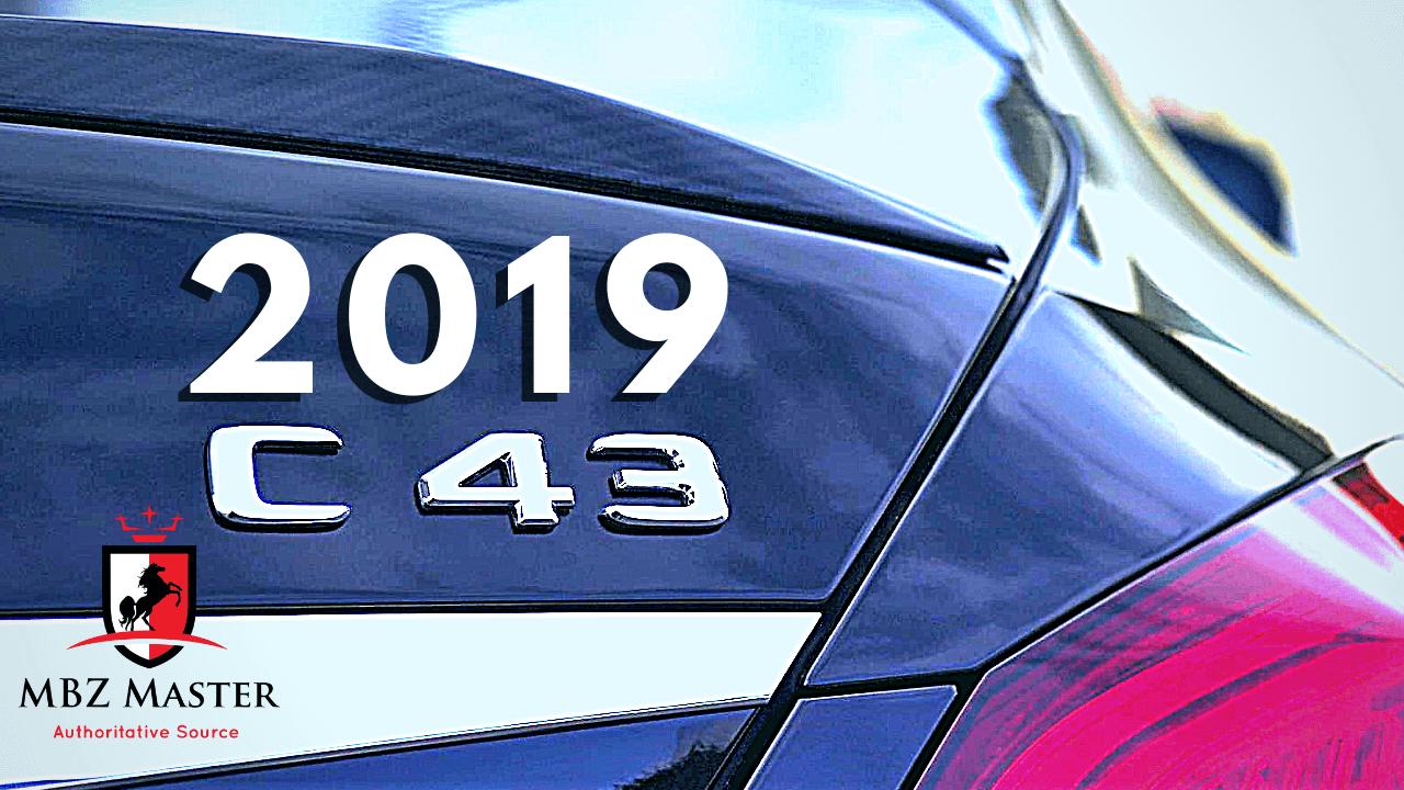 2019 C43 AMG
