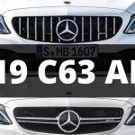 2019 C63 AMG