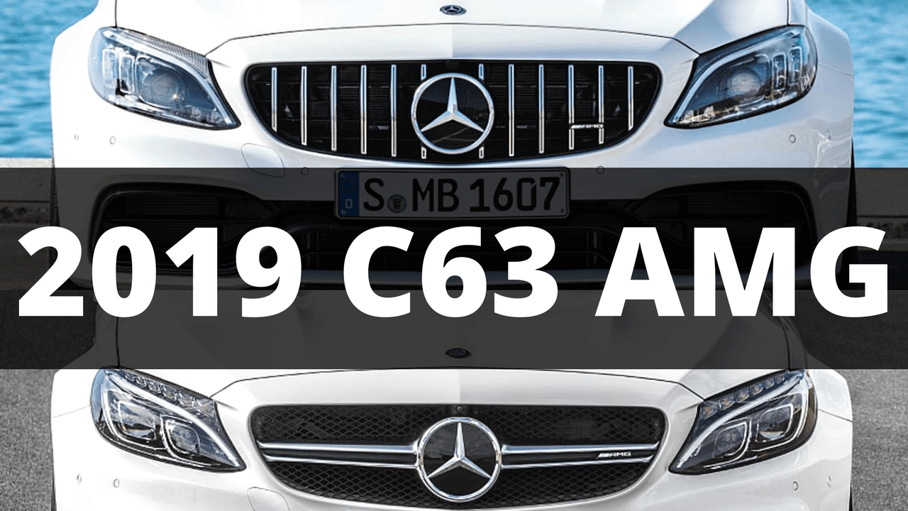 2019 Mercedes C63 AMG Review of Changes: What's New and Updates