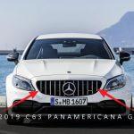 2019 Mercedes-Benz C63 Panamericana Grille