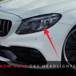 2019 Mercedes-Benz C63 AMG headlight