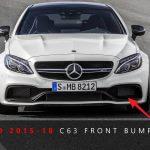 2015-2018 Mercedes-Benz C63 AMG Bumper