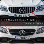 2015-2018 Mercedes-Benz C63 AMG grille vs. 2015-2018 C63 AMG