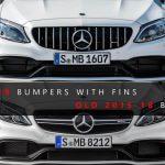 2015-2018 Mercedes-Benz C63 AMG bumper vs. 2015-2018 C63 AMG