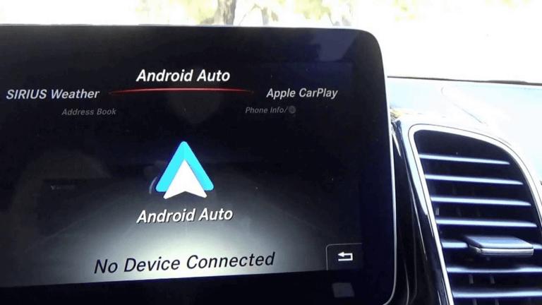 Mercedes Android Auto Demo