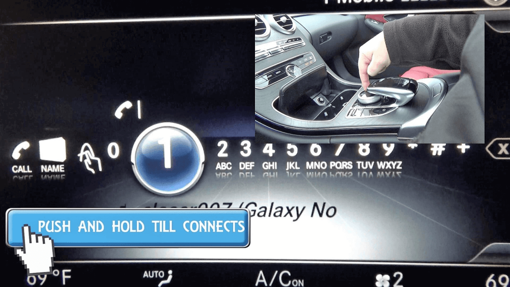 Mercedes Speed Dial Demo