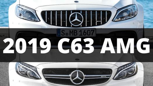 2019 Mercedes-Benz C63 AMG