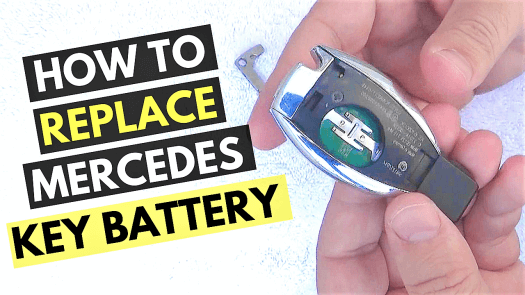 Mercedes Smart Key Battery Replacement