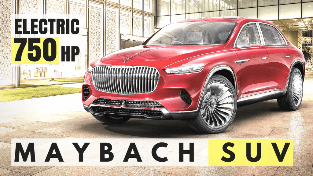 Mercedes-Benz Maybach SUV Prototype