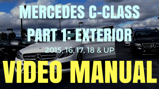 Mercedes C-Class Video Manual Part 1