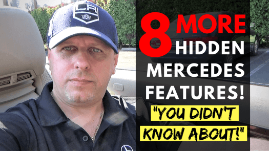 Mercedes Hidden Features Tutorials