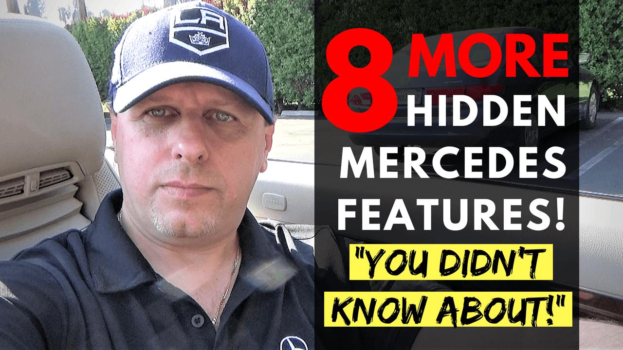 Mercedes Hidden Features Tutorials