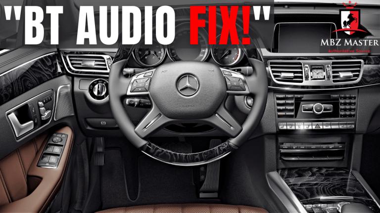 Mercedes Bluetooth Audio
