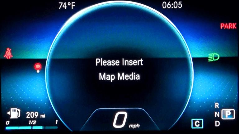 Mercedes Map Media