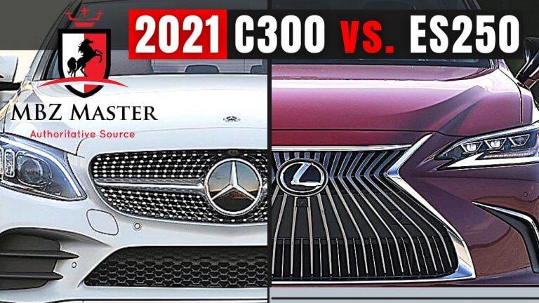 C300 VS. ES250